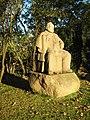 Rødkilde Højskole Bojsen statue.JPG