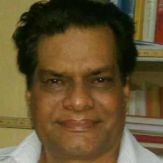 Rajesh Vivek - Self-portrait photograph
