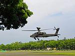 ROCA AH-64E 810 Taking off from ROCMA Ground 20140531b.jpg