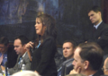 Rachel Burgin gestures while commenting during consideration of a measure on the House.png