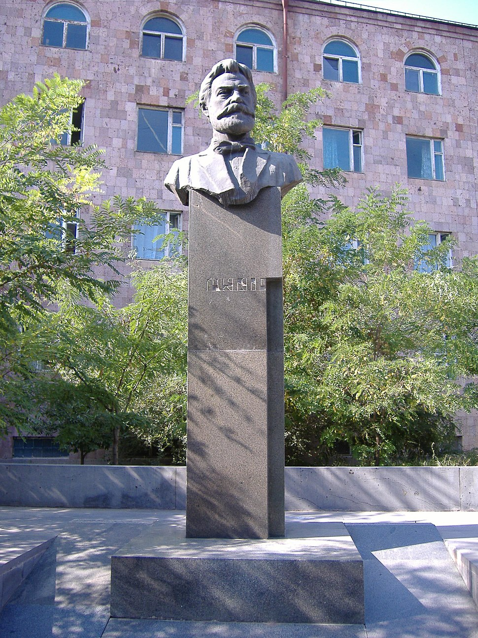 Raffi monument Yerevan