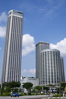 Raffles City Singapore Hotel, office and shopping complex in Singapore