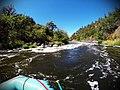 Rafting the Klamath River Stage Line (Class III, Mile 5.9) (29352605180).jpg