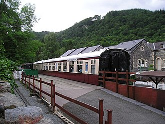 Conwy Valley Railway Museum - The buffet coach