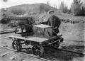 Railway jigger belonging to the Taupo Totara Timber Company, and H Taylor ATLIB 273654.png