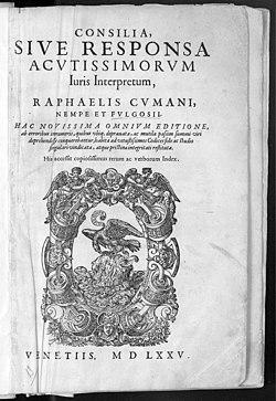 Raimondi, Raffaele – Consilia, 1575 – BEIC 11209751.jpg