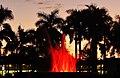 Rainbow Fountain Central Park Rockhampton red.jpg