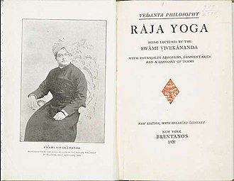 Raja Yoga (book) - Title page of 1920 edition