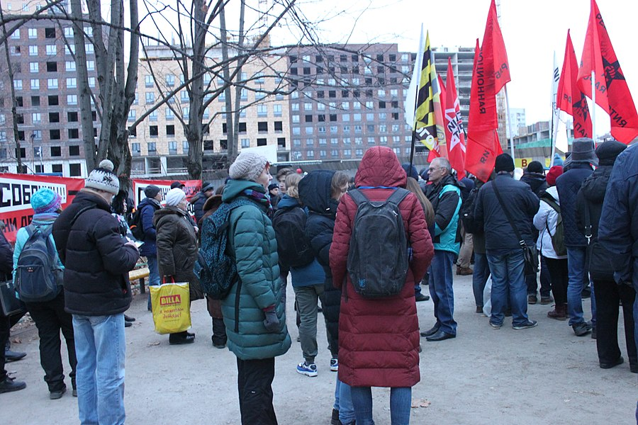 Rally for the termination of construction and restoration of the square (2018;11;17) 117.jpg