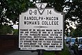 Randolph-Macon Woman's College historical marker.jpg
