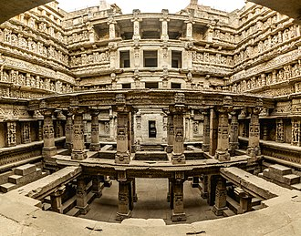 Tourism in India - Rani ki vav, a stepwell in Gujarat, is a UNESCO World Heritage site