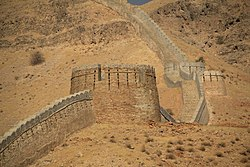 "Ranikot Fort ""(Great Wall of Pakistan)""."