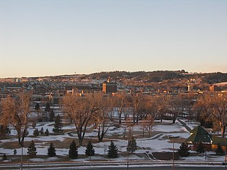 Rapid City, South Dakota - Downtown Rapid City