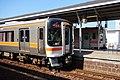 Rapid Mie and Meisyo Line at Matsusaka Station.jpg