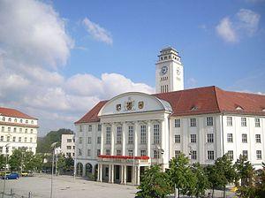 Sonneberg - Image: Rathaus Sonneberg 2