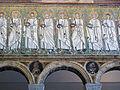 Ravenna, sant'apollinare nuovo, int., santi martiri offerenti, epoca del vescovo agnello, 02.JPG