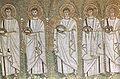 Ravenna, sant'apollinare nuovo Santi Martiri (seconda metà del VI secolo).jpg