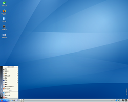 Screenshot của Red Flag Linux