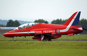 Red arrow hawk xx264 taxis arp.jpg