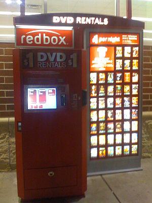 Redbox - A Redbox kiosk.