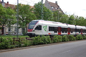 Wiese Valley Railway - A Flirt in Lörrach