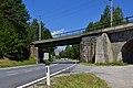 Reith bei Seefeld - Mittenwaldbahn - Brücke nach dem Hermelesbachviadukt.jpg