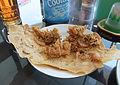 Rempeyek udang restoran Padang.JPG