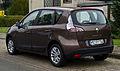 Renault Scénic Paris Deluxe 110 (III, 2. Facelift) – Heckansicht, 5. Oktober 2013, Münster (1).jpg