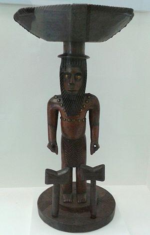 Shango - Representation of Ṣàngó, National Museum of Brazil, Rio de Janeiro
