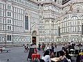 Restaurant in the Piazza del Duomo, Florence, Italy.jpg