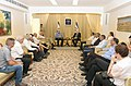 Reuven Rivlin, hosted the Forum of Heads of Bedouin Authorities together with Uri Ariel (5011).jpg
