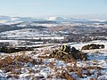 Rhinns of Kells and St. John's Town of Dalry from Mulloch Hill, Kirkcudbrightshire.jpg