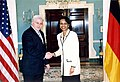 Rice and steinmeier april 2006.jpg