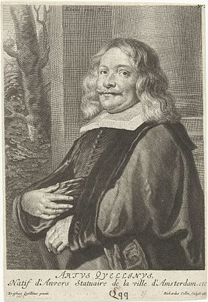 Artus Quellinus the Elder - Artus Quellinus I after a painting by Erasmus Quellinus II (1662).