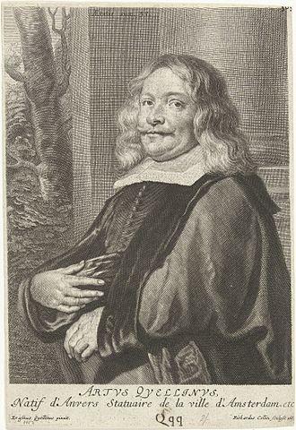 Artus Quellinus the Elder - Artus Quellinus I after a painting by Erasmus Quellinus II (1662).