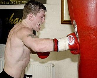 Ricky Hatton - Hatton training in 2006