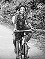 Riding bi-cycle at village.jpg