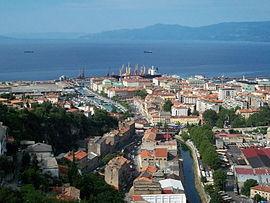 Vue de Rijeka