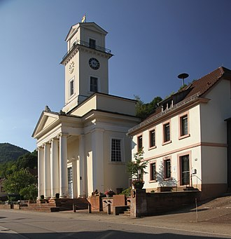 Rinnthal - Protestant church