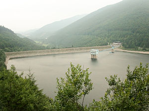 Ostravice (river) - Šance Dam
