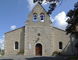 The church in Rives
