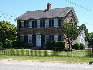 Tinker Cobblestone Farmstead United States historic place