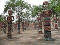 Rock Garden of Chandigarh - bangle sculptures.JPG