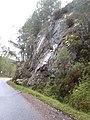 Rocky bluff by road up Glen Affric - geograph.org.uk - 1551057.jpg