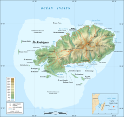 Rodrigues Island topographic map-fr.png