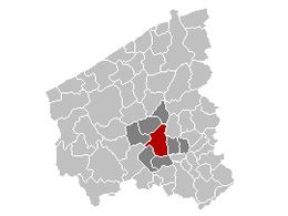 Roeselare – Mappa