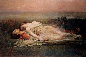 Prose Tristan - Rogelio de Egusquiza's Tristan und Isolde (1915)