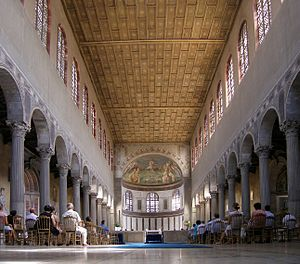 Santa Sabina - Interior.