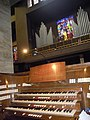 Roma, basilica del Sacro Cuore di Cristo Re - Organo a canne e consolle.jpg