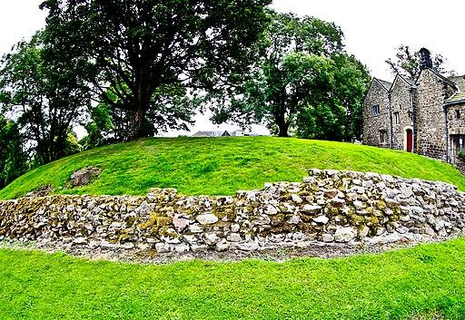 Roman Walls Ilkley